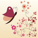 Pink Blossoms Live Wallpaper icon