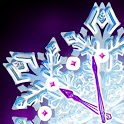 Christmas Snow Clock icon