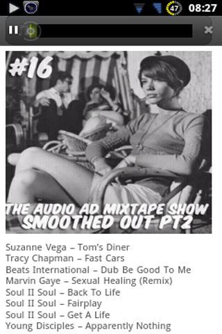 Audio Ad Mixtapes- screenshot