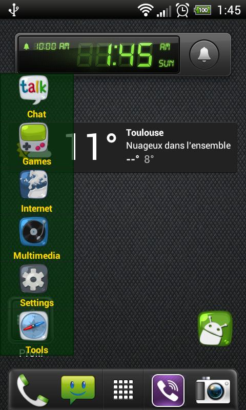 Apps Menu Widget Free- screenshot