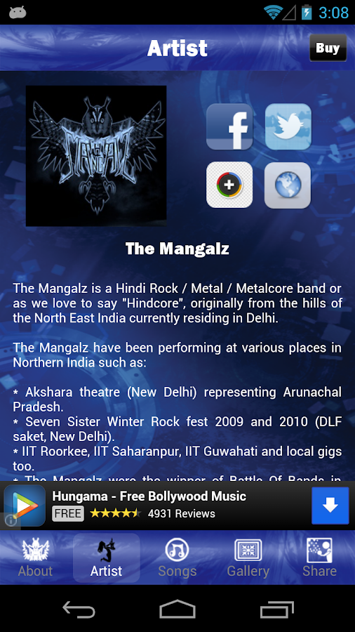 The Mangalz Lite- screenshot