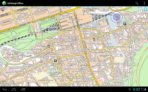 Offline Map Edinburgh|玩旅遊App免費|玩APPs