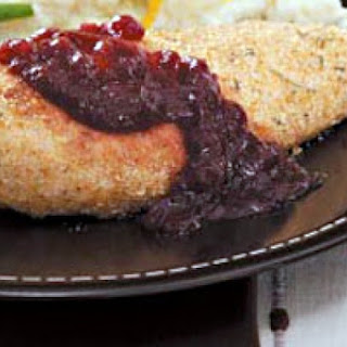 Chicken with Cranberry Compote