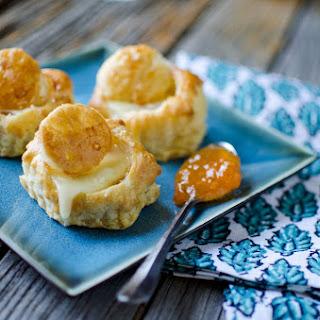 Brie & Apricot Puffs
