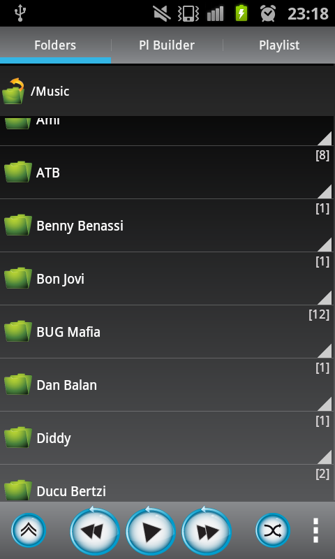 MyMP - My Music Player - screenshot