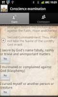 Screenshot of Catholic Droid