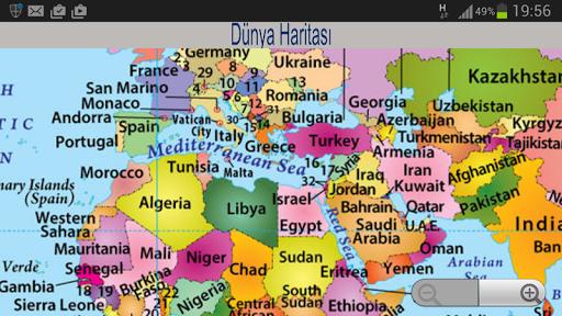 【免費教育App】Dünya Haritası-APP點子