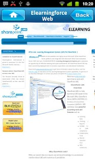 SharePointLMS - screenshot thumbnail