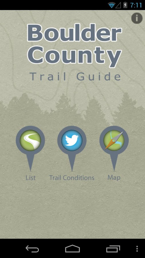 Boulder County Trails- screenshot