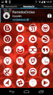RemicksCircles Icon Pack- screenshot thumbnail