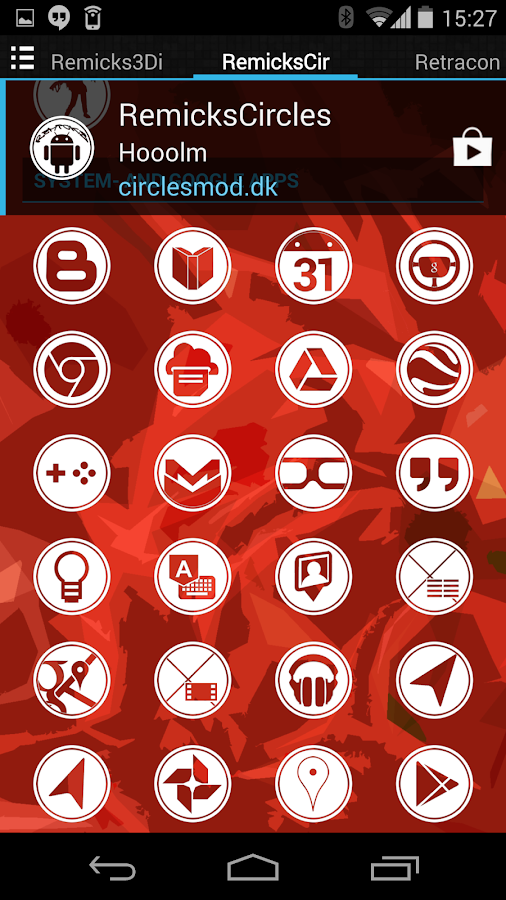 RemicksCircles Icon Pack- screenshot