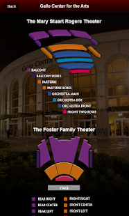 Gallo Center Tickets- screenshot thumbnail