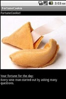Screenshot of Fortune Cookie