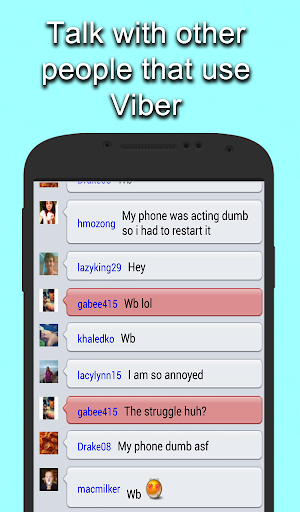 Free Viber Chat Rooms