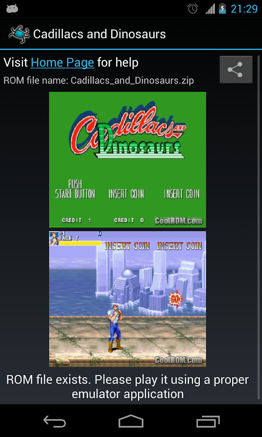 Emulator Game List - screenshot