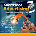 Smart Phone Advertising icon