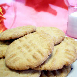Eggless Peanut Butter Cookies.