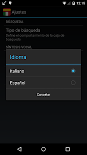 Offline Spanish Italian Dict.- screenshot thumbnail