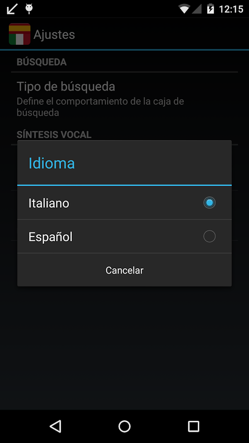Offline Spanish Italian Dict. - screenshot