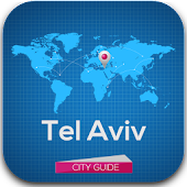 Tel Aviv City Guide Map Hotels
