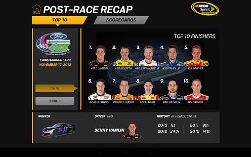 NASCAR RACEVIEW MOBILE Screenshot 23