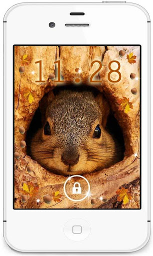 Autumn Squirrels livewallpaper