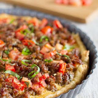 Savory Italian Tart.