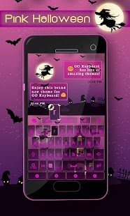 Pink-Halloween-Keyboard-Theme