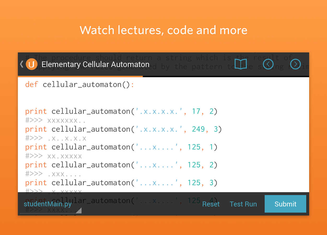 Udacity - Learn Programming - screenshot