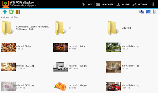 WiFi PC File Explorer Pro- screenshot thumbnail
