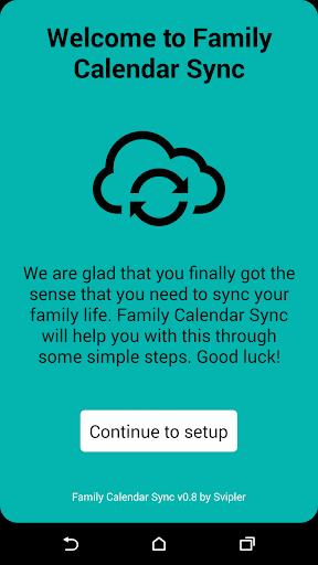 Family Calendar Sync