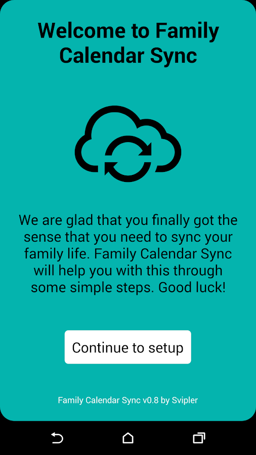 Family Calendar Android : Family calendar sync android apps on google play