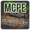 MCPE Downloader icon