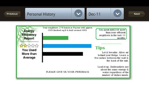 SESD Energy Conservation - screenshot thumbnail