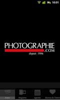 Screenshot of Photographie