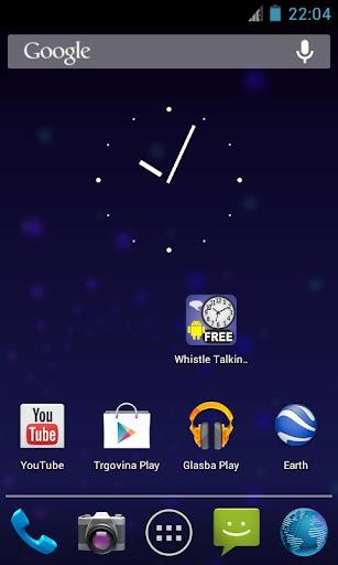 Whistle Talking Clock FREE