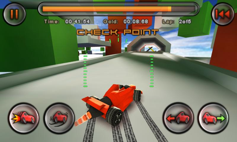 Jet Car Stunts - screenshot