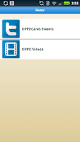 Screenshot of OPPDconnect