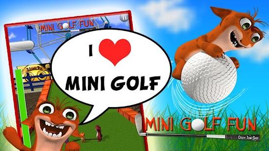 迷你高爾夫球樂趣 - 瘋狂射擊湯姆