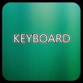 Green Glass Keyboard Skin