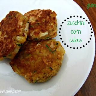 Zucchini Corn Cakes – #glutenfree