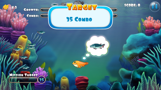 Download coco the fish cute fish game for pc for Fish eat fish game