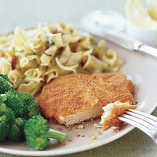 Schnitzel With Noodles Recipes.