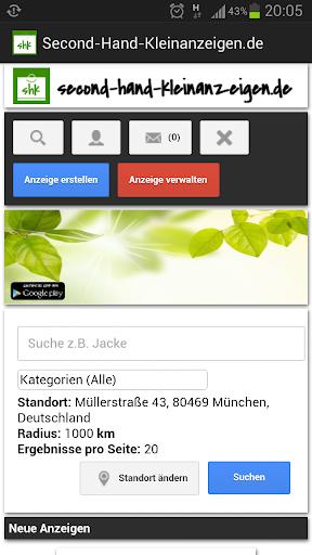 Second-Hand-Kleinanzeigen.de