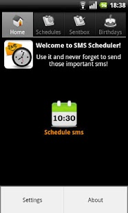 SMS Scheduler- screenshot thumbnail
