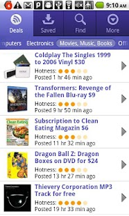 DealNews - Today's Best Deals - screenshot thumbnail