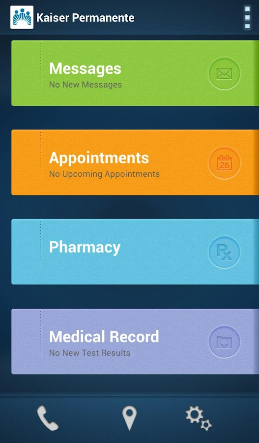 Kaiser Permanente - screenshot