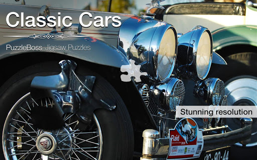 Classic Car Jigsaws Demo