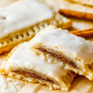 Homemade Frosted Brown Sugar Cinnamon Pop-Tarts.