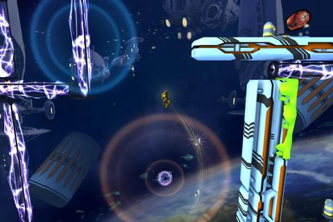 Inertia Escape Velocity LiteHD- screenshot